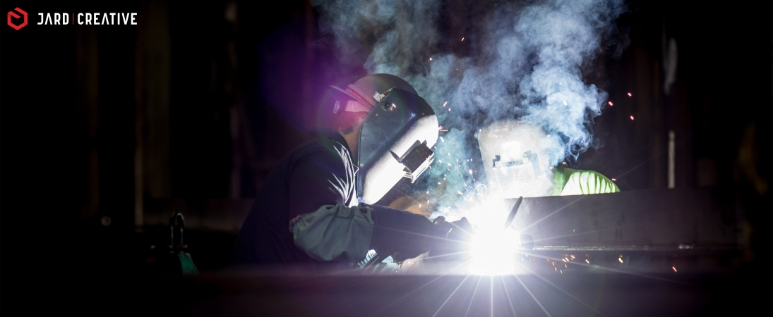 What is the process of welding and how does it work?