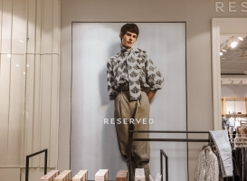 Advertising elements in Reserved stores